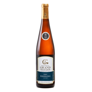 2018 Chateau Grand Traverse Dry Riesling Old Mission Peninsula