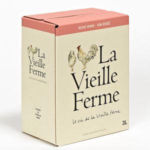 La Vieille Ferme Rosé Rhone 3L